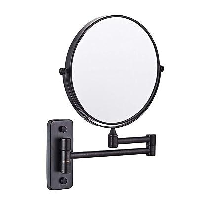 Specchio Per Trucco Da Parete.Mrj Specchio Trucco Da Parete 8 Pollici Ingrandimento X3 Allungabile