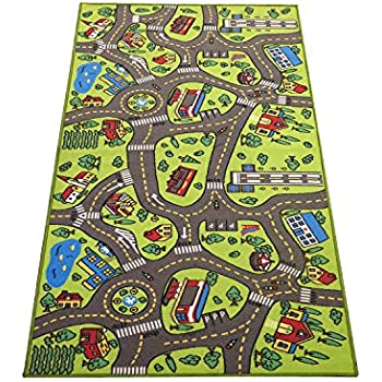 Amazoncom Kids Play Car Rug Community Carpet Mat Large 78 X 39
