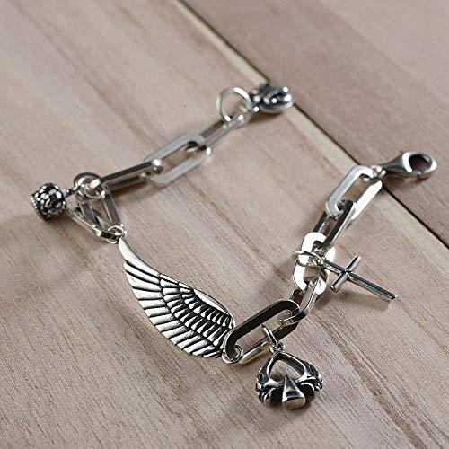 Mode Armband Unisex Silber Design Geschenk Fur Familie Cross Oder