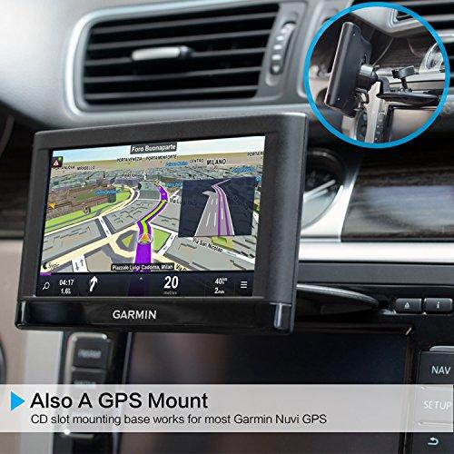 Universal Magnetic Car Mount [3 in 1], CD Slot Tablet Car