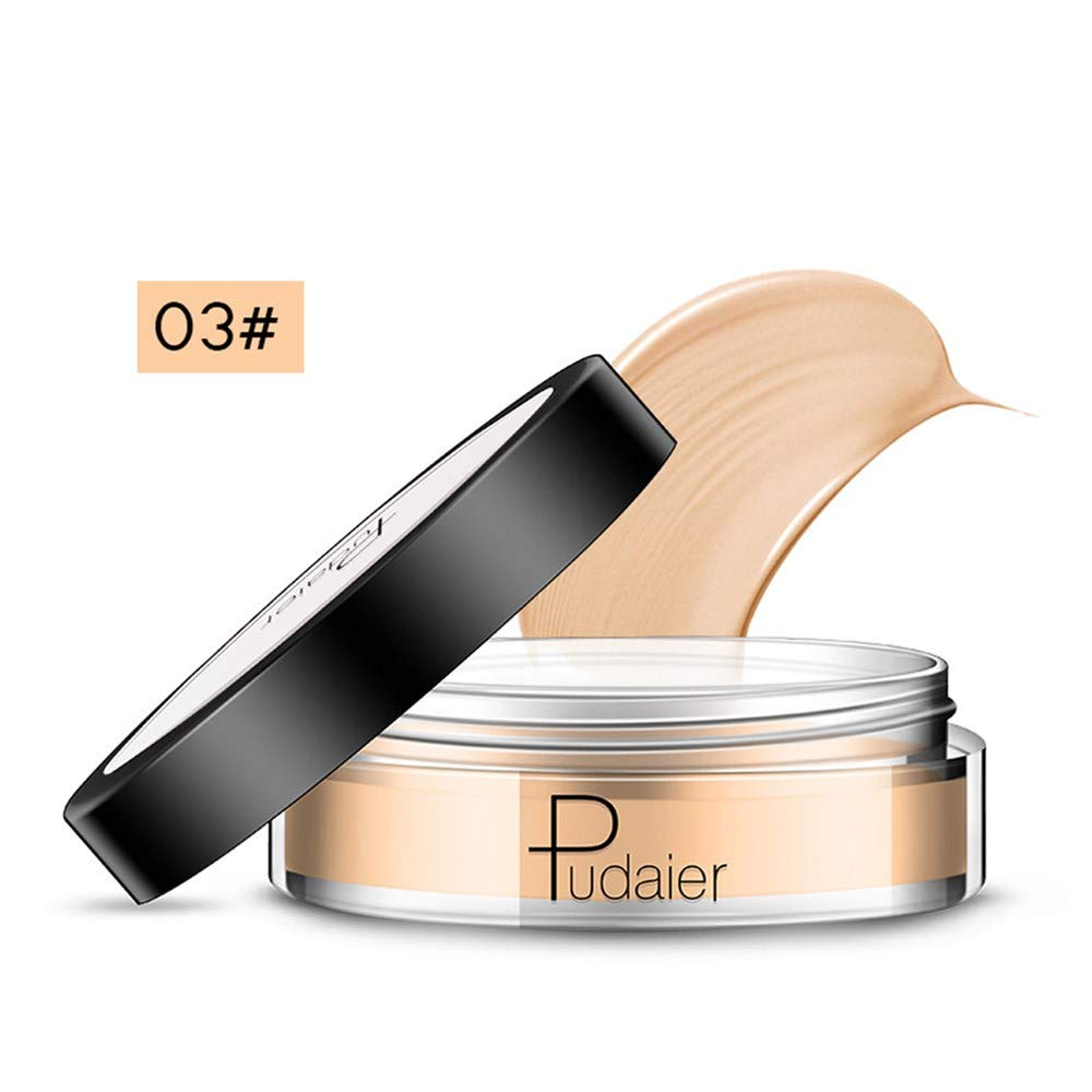 Sunbona Clearance Pudaier Concealer Light Waterproof Lasting Full Coverage Cream Concealing Foundation Concealer Makeup (C)