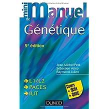 Mini Manuel de Génétique: Cours + Qcm + Qroc (mini Manuel) 5e Éd.