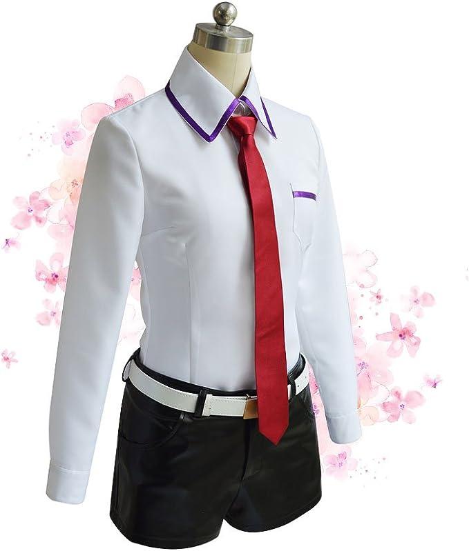 Game! Steins Gate Chris Makise Kurisu Cosplay uniform costume suit