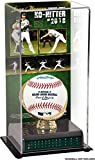 Sports Memorabilia Sean Manaea Oakland Athletics 2018 No-Hitter Sublimated Display Case with Image - Baseball Free Standing Display Cases