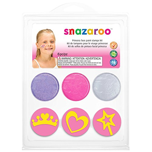 Face Painting Stamp Kit - Princess]()