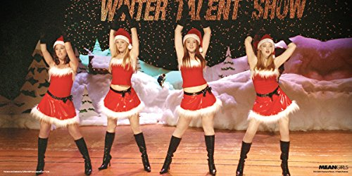 Culturenik Mean Girls Winter Talent Show Teen Comedy Movie Film Print (Unframed 12x24 Poster)
