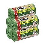 Domopak-Spazzy-Sacos-de-red-Saccoverde-enrollados-y-cerrados-100-reciclados-de-posconsumo–Casalingo-40-l–Verde–5-paquetes-de-20-unidades–1350-g