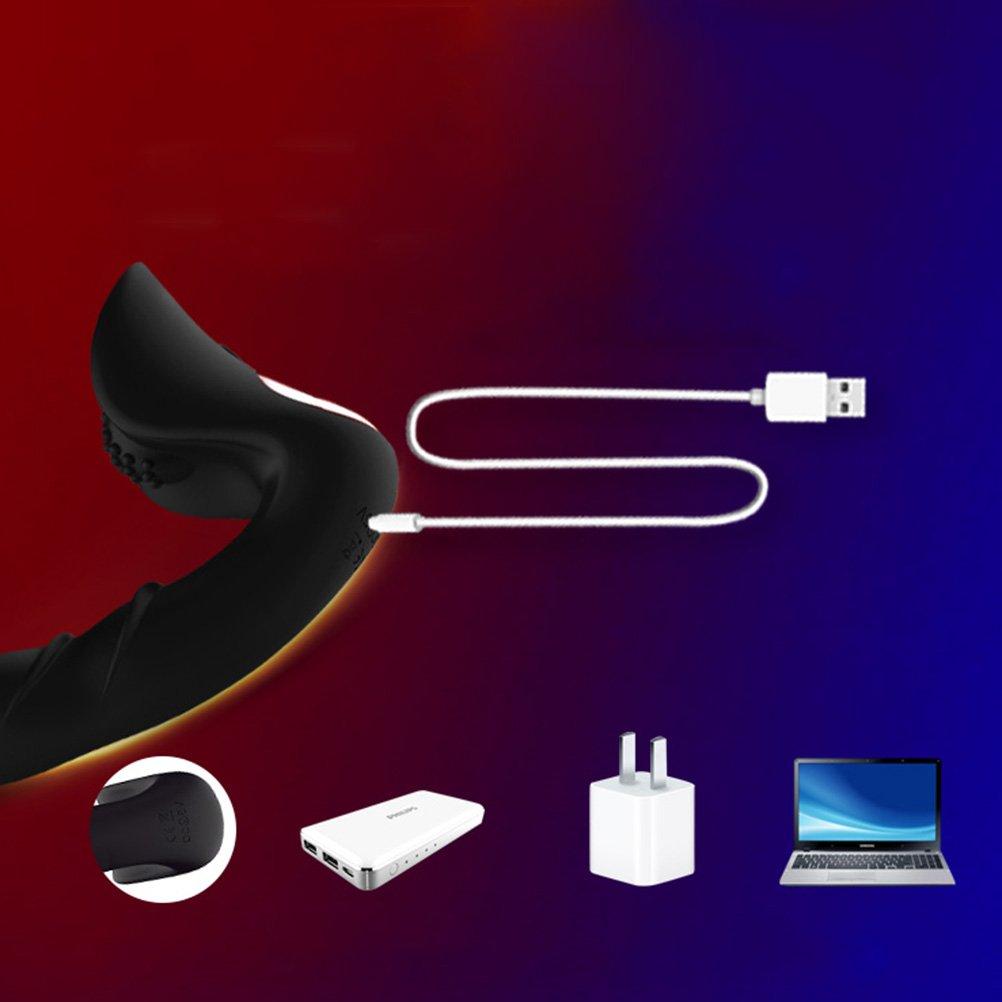 HEALIFTY Control remoto vibrador consolador vibrador remoto roscado pene impermeable próstata masajeador sexo anal juguete 3a2a30