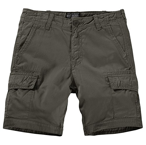 Match Men's Retro Cargo Summer Shorts (Label Size XL/34 (US 32),3050 R-Green) ()