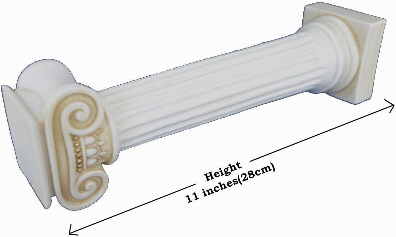 Estia Creations Greca Antica Dorico per Colonna Invecchiato Artefatto