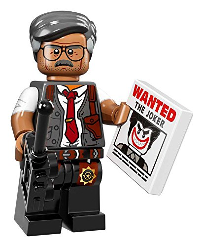 LEGO Batman Commissioner Gordon Minifigure product image