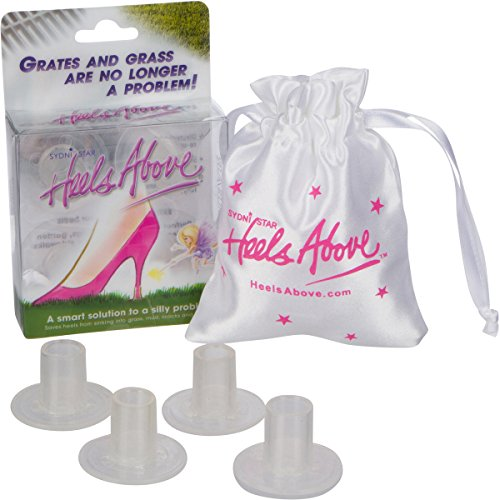 Heels Above High Heel Protector 2 Pairs- includes 2 sizes - (Precious Feet)