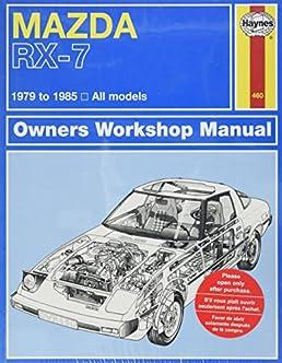 51cw8wKHZ0L._SX258_BO1204203200_ mazda rx 7 rotary 1979 thru 1985 all models (automative repair 1985 mazda rx7 wiring diagram at bayanpartner.co