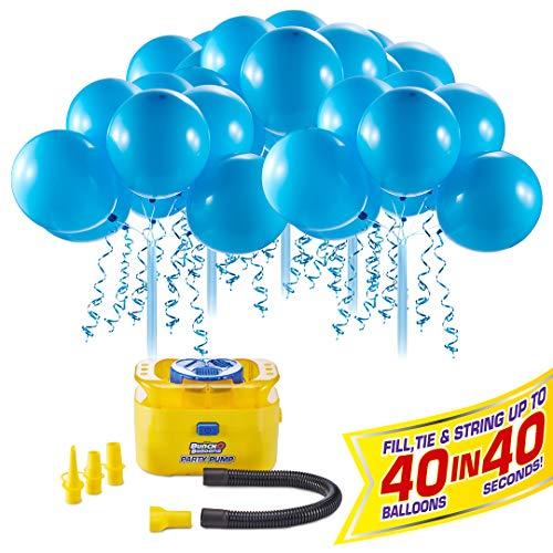 Bunch O Balloons - Party Balloons - Party Pump with 5 Balloon Stems - Blue (Bunch O Balloons 100)