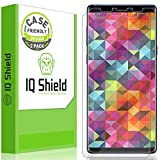 Samsung Galaxy Note 9 Screen Protector, IQ Shield LiQuidSkin Full Coverage HD Anti-Bubble Screen Protector for Samsung Galaxy Note 9 [Case Friendly][2-Pack] Clear Film