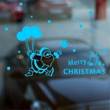 YuanMinglu Feliz Navidad Decoración de Pared Navidad Reno ...