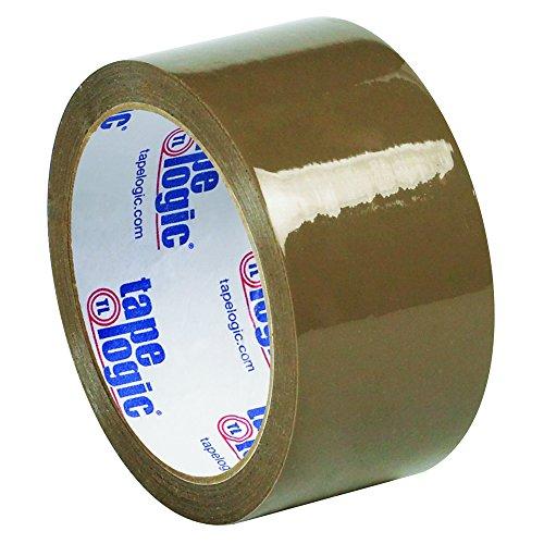 Tape Logic TLT90153T6PK Tan Natural Rubber Tape, 2.1 mil, 2