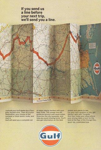 Print Ad: 1966 Gulf Oil
