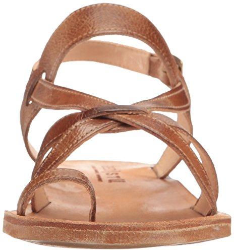 Womens bed Sandal Ring Tan Manati stu stu Rustic bed Toe rnxvr6q