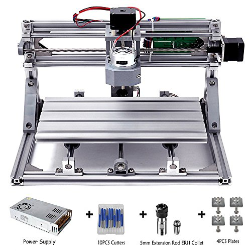 DIY CNC Router Kits 3018 GRBL Control Wood Carving Milling