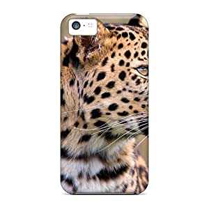 LJF phone case For RCJ6674bgGK A Beautiful Jaguar Protective Case Cover Skin/ipod touch 4 Case Cover