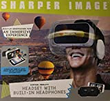 Sharper Image Virtual Reality Headset with Built-In
