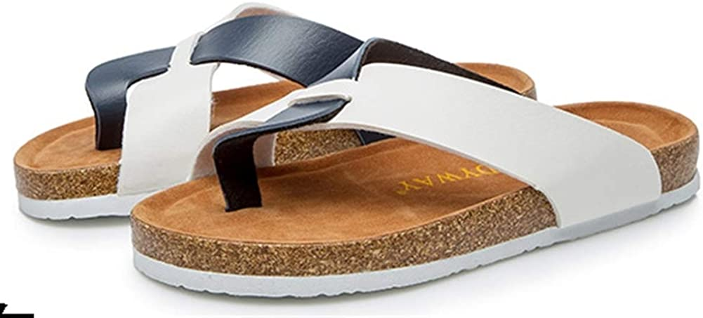 Icegrey Womens Flip Flops Summer Casual Cork Sandals Flat