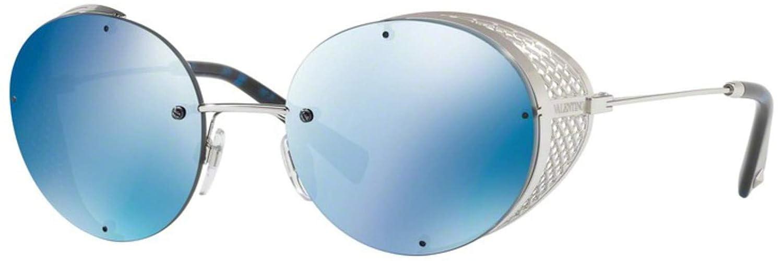 Amazon.com: Gafas de sol Valentino VA 2003 300655 plata ...
