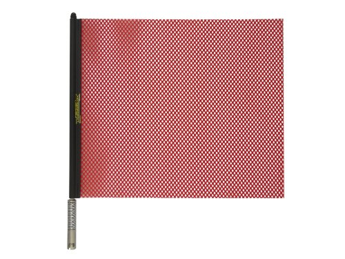 """Cheap Oversize Warning Products – Quickmount Warning Flag Red 18"""" x 18"""""""
