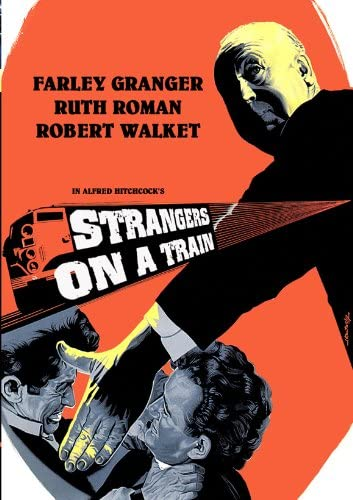 Amazon.com: Strangers on a Train Movie Poster (27 x 40 Inches ...