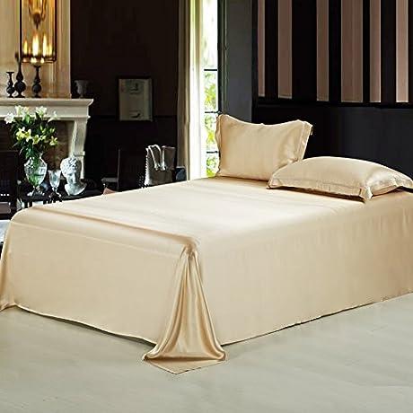 Pure Silk Bed Linen Silk Double Wide Silk Sheets E 230x245cm 91x96inch