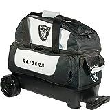 KR Strikeforce Oakland Raiders Double Roller Bowling Bag, Multicolor