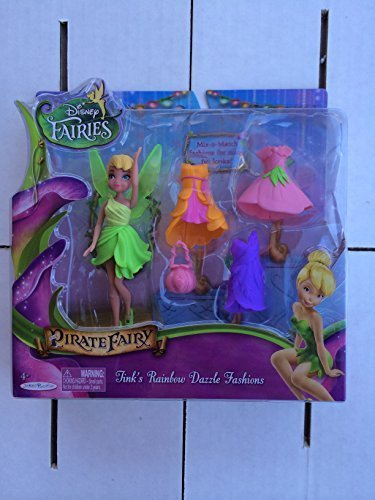 [Pirate Fairy Tink's Rainbow Dazzle Fashions] (Tinkerbell Pirate)