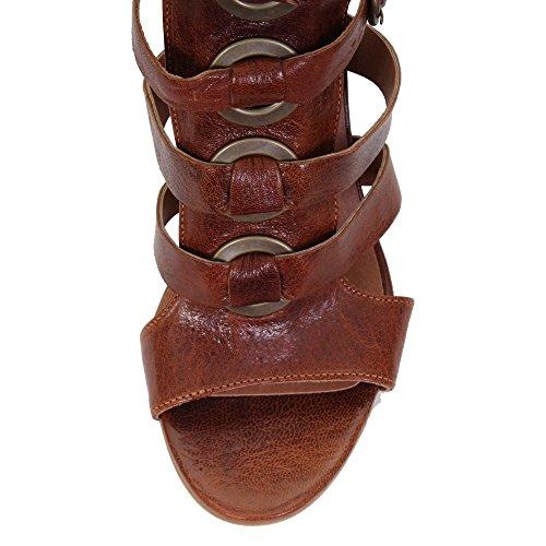 Hudson London Grenada Damen Schuh Tan