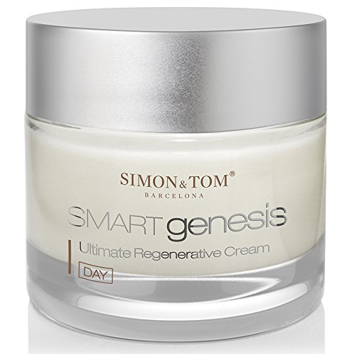 Simon & Tom Smart Genesis Ultimate Regenerative Cream - Advanced Anti Aging, Anti Wrinkle Day Cream with Apple Stem Cells Complex 50 ml/ 1.67 fl.oz. Anti Wrinkle Regenerative Cream