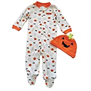 Just One You by Carter's Baby Pumpkin Sleep N' Play and Hat Set (Newborn)