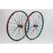 MTB Mountain Bike Bicycle 26inch Milling trilateral Alloy Rim Carbon Hub Light Wheels Wheelset