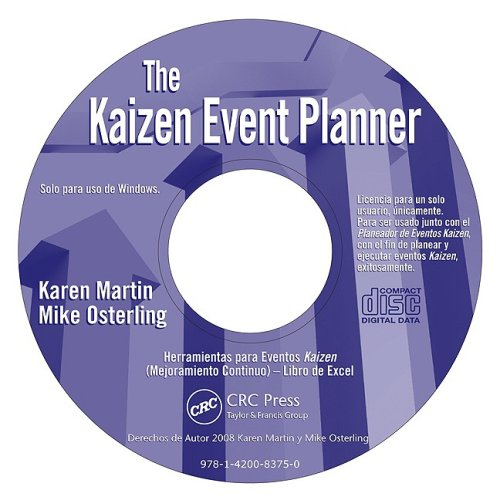 Kaizen Event Planner - Spanish CD ROM by Productivity Press