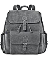 David King & Co. Backpack with Flap-Over Pockets