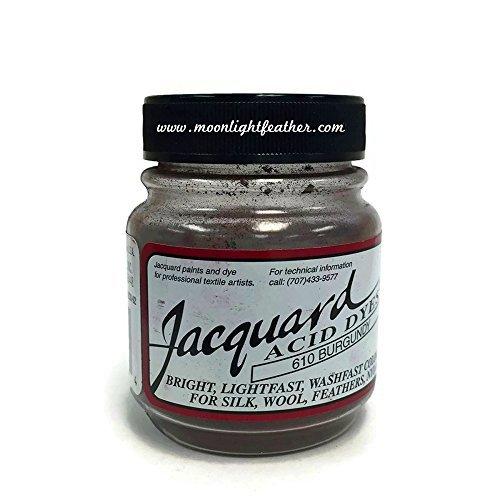 (Dyes, 1/2 Oz Burgundy Jacquard Acid Dyes)