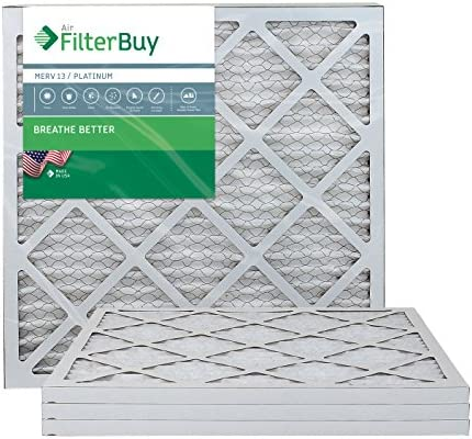 FilterBuy 18x20x1 Pleated Furnace Filters