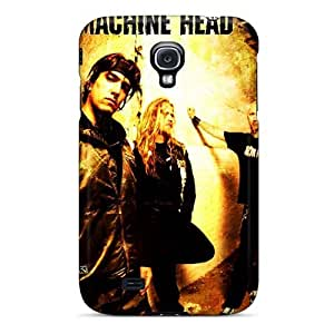 Samsung Galaxy S4 SyB1923QlWe Customized HD Machine Head Band Pictures Shock Absorption Hard Cell-phone Cases -icase88