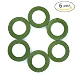 Koogel Floral Tape Stem Wrap, Green,Pack of 6