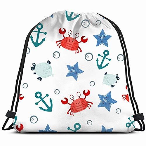 pattern crabss marine children animals wildlife 80s Special