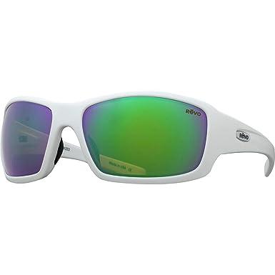 3d47b32e97 Amazon.com: Revo GN Bearing Sunglasses Matte White Green Water RE ...