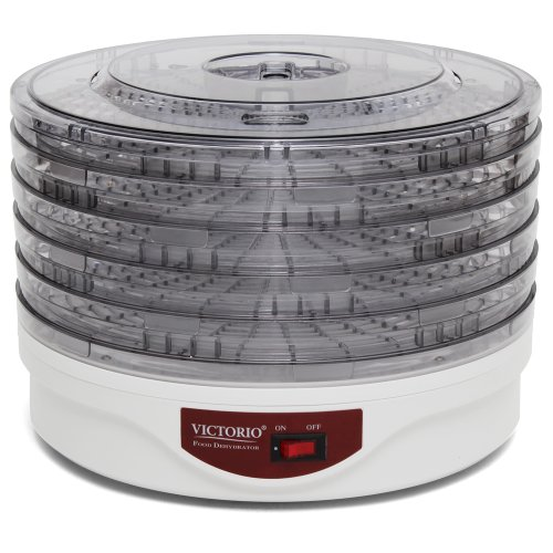 Electric Food Dehydrator by VICTORIO VKP1006 by Victorio Kitchen Products