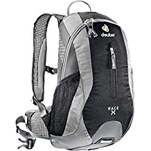 Deuter 32123 41110 Granite/White Race X Backpack - Perfect for Hiking, Biking, Hunting, Off-road and Motorcycling