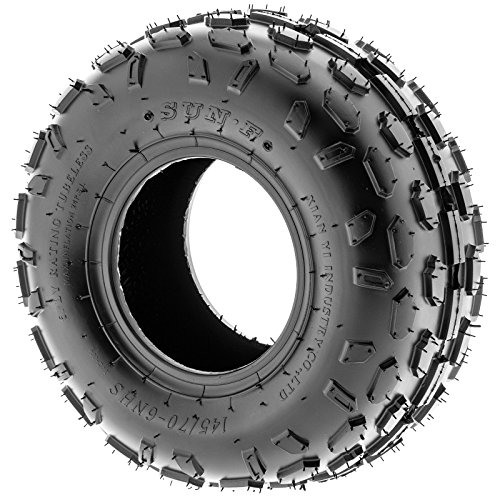 Set of 2 SunF A015 Sport-Racing ATV/UTV Tires 145/70-6, 6-PR by SunF (Image #4)