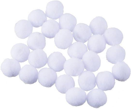 rainbabe pompones bola algodón DIY colgante difusor Perfume blanco ...