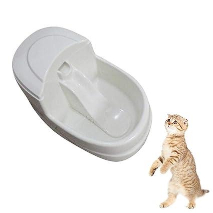 AOLVO Fuente de Agua para Perros y Gatos Pet Dispensador de Agua para Grandes bebederos con